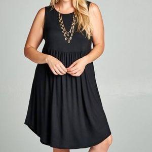 Black Tank Dress by Emerald